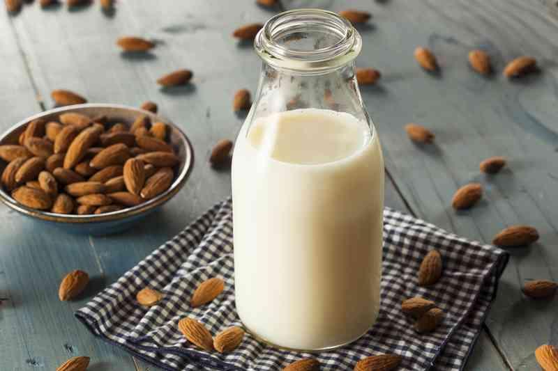 osötad mandelmjölk kalorier